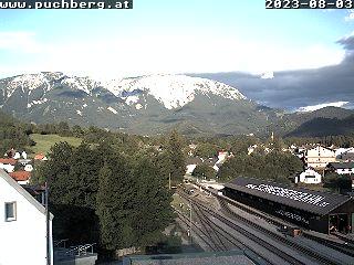 Webcam Bahnhof Puchberg