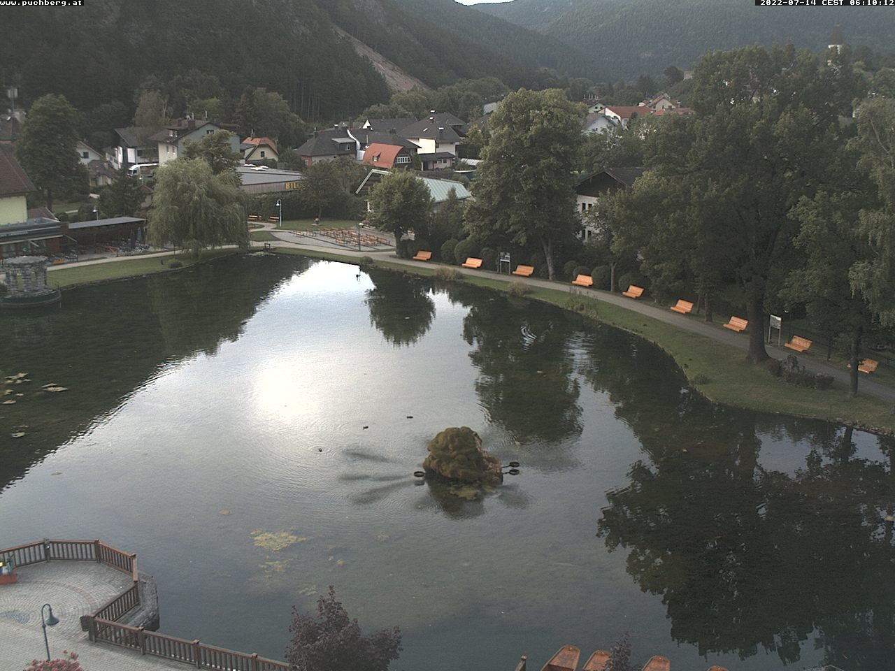 Blick auf den Puchberger Teich